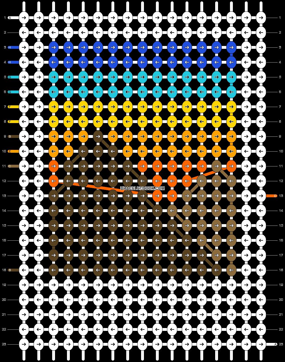 Alpha pattern #44998 pattern