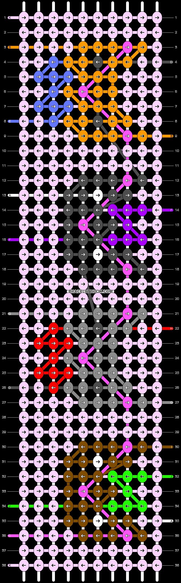 Alpha pattern #45024 pattern
