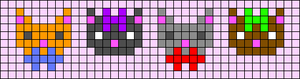 Alpha pattern #45024