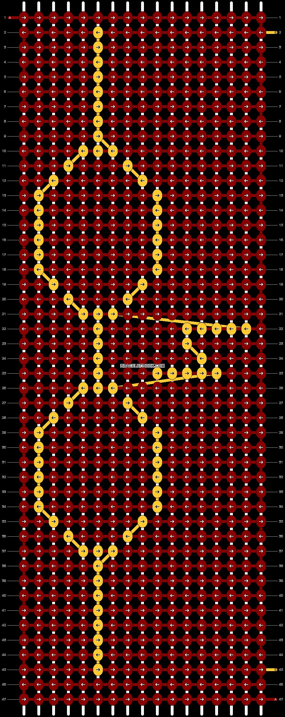 Alpha pattern #45041 pattern