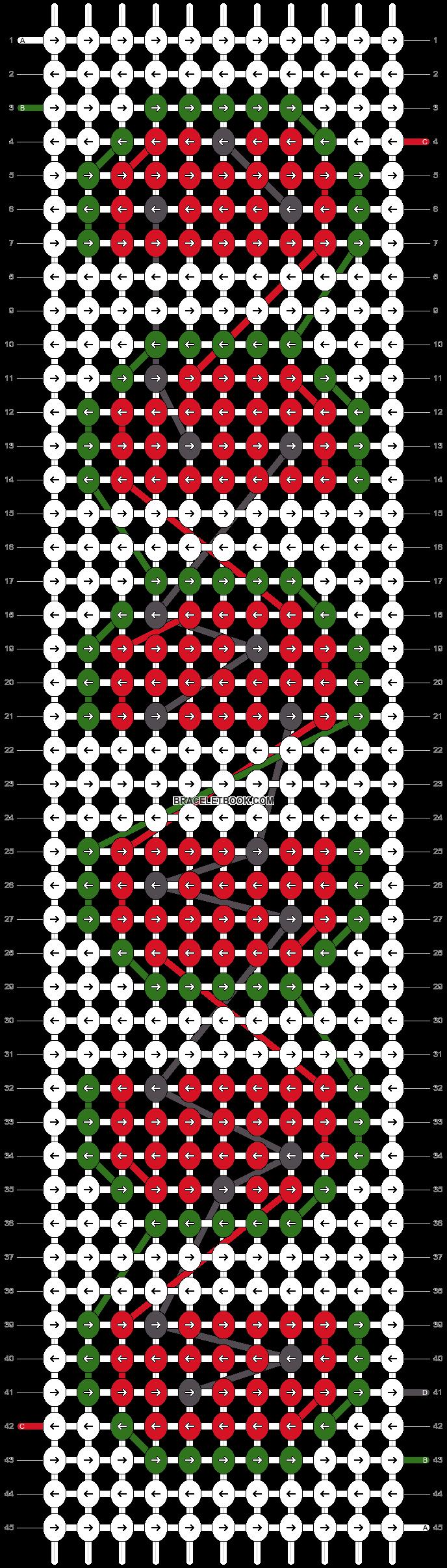 Alpha pattern #45045 pattern