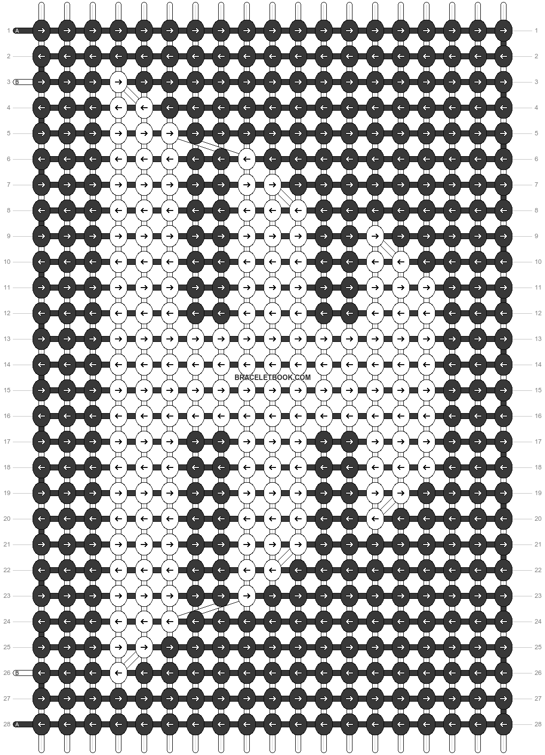 Alpha pattern #45046 pattern