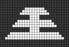 Alpha pattern #45046