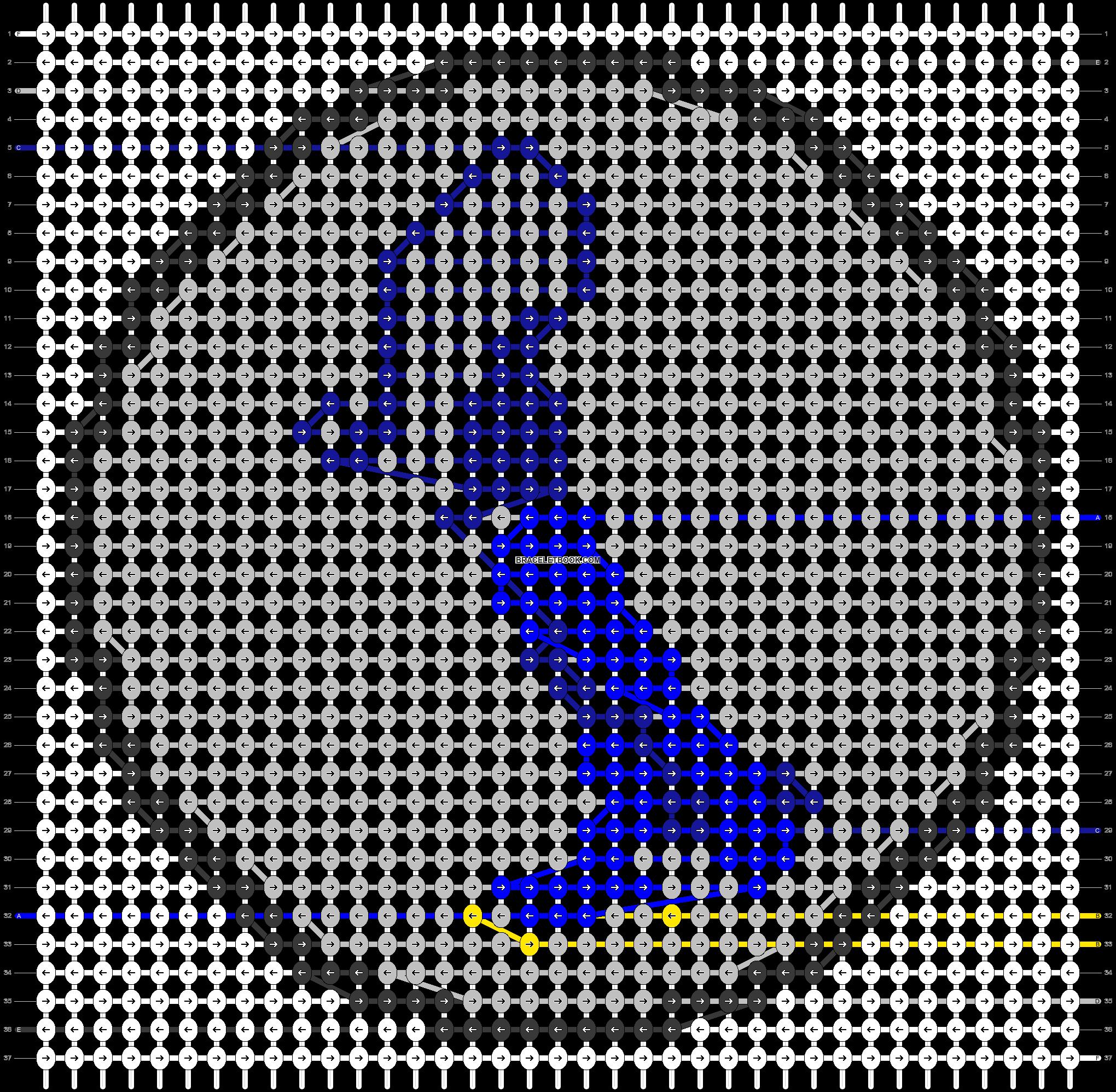 Alpha pattern #45060 pattern
