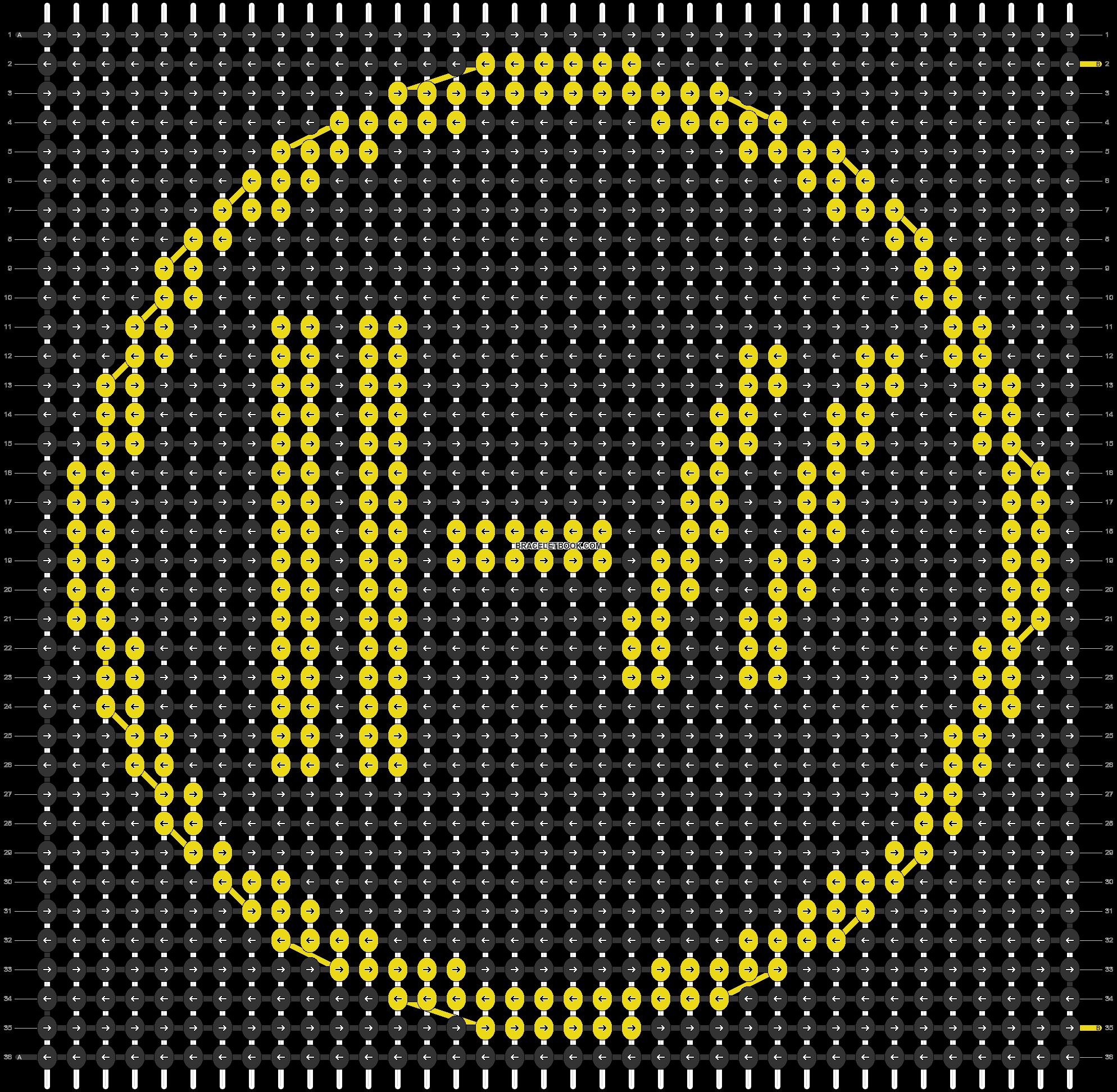 Alpha pattern #45062 pattern