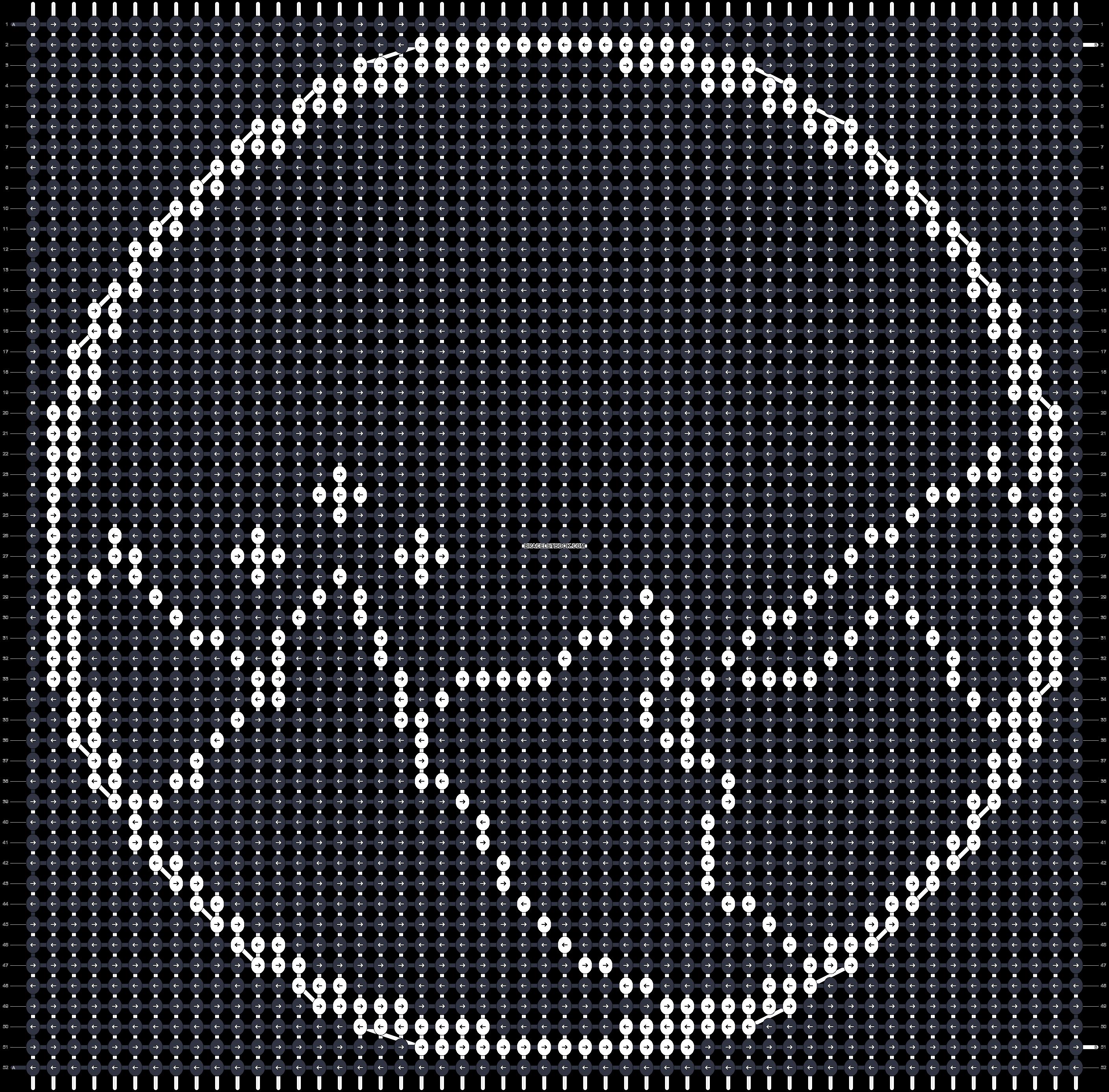 Alpha pattern #45065 pattern