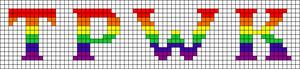 Alpha pattern #45073