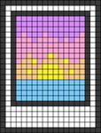 Alpha pattern #45082