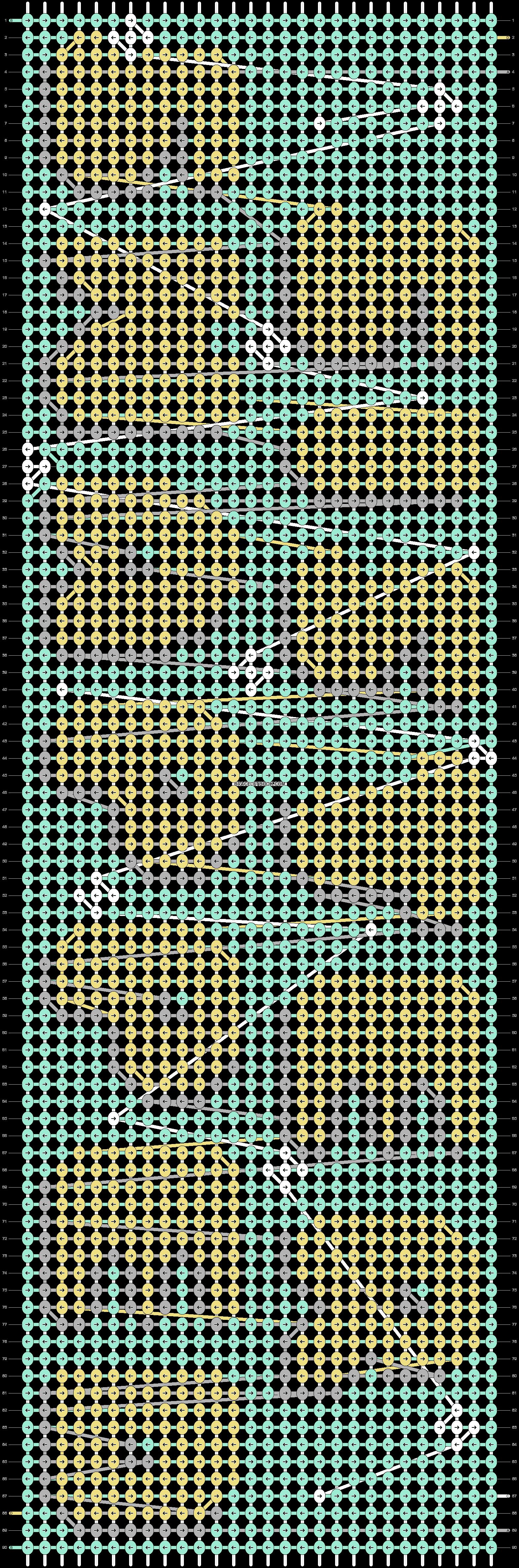 Alpha pattern #45085 pattern