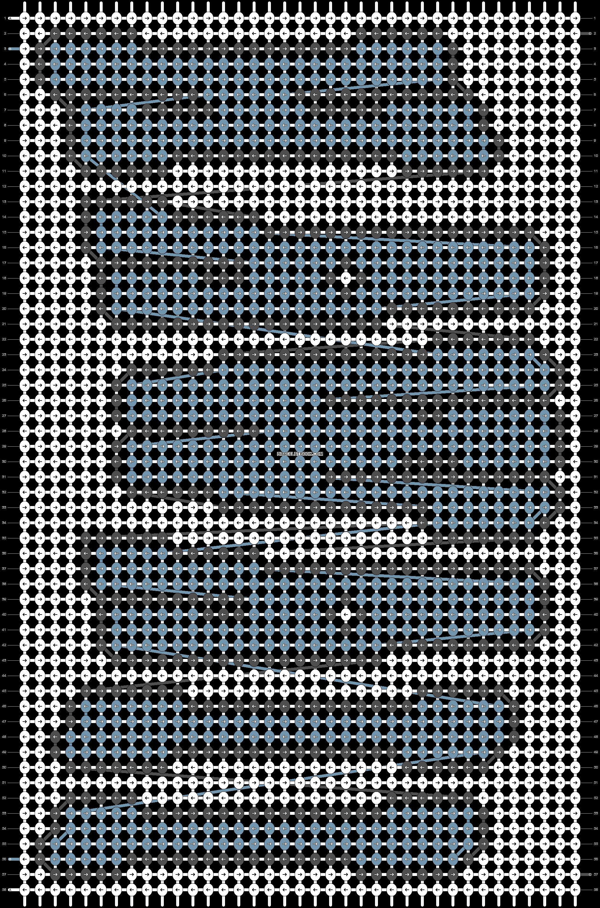 Alpha pattern #45087 pattern