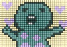 Alpha pattern #45095