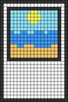 Alpha pattern #45117