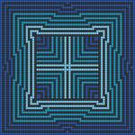 Alpha pattern #45145