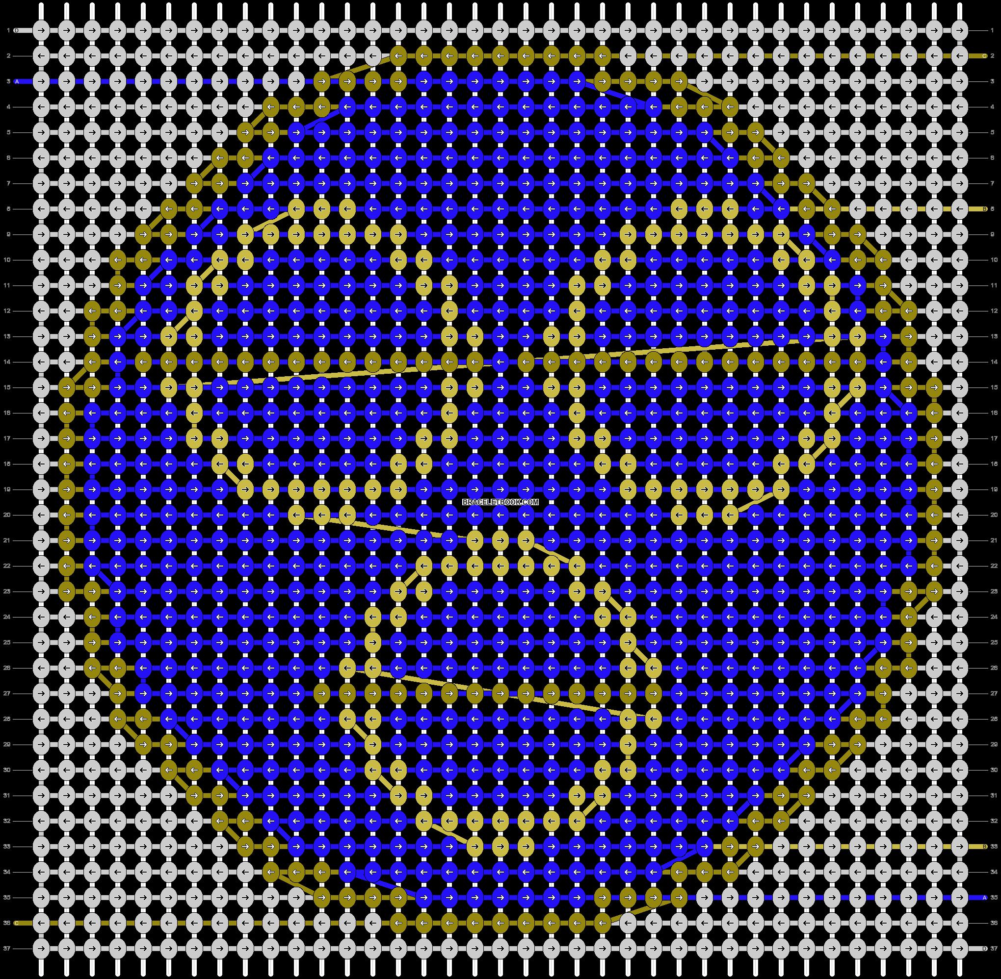 Alpha pattern #45150 pattern