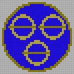 Alpha pattern #45150