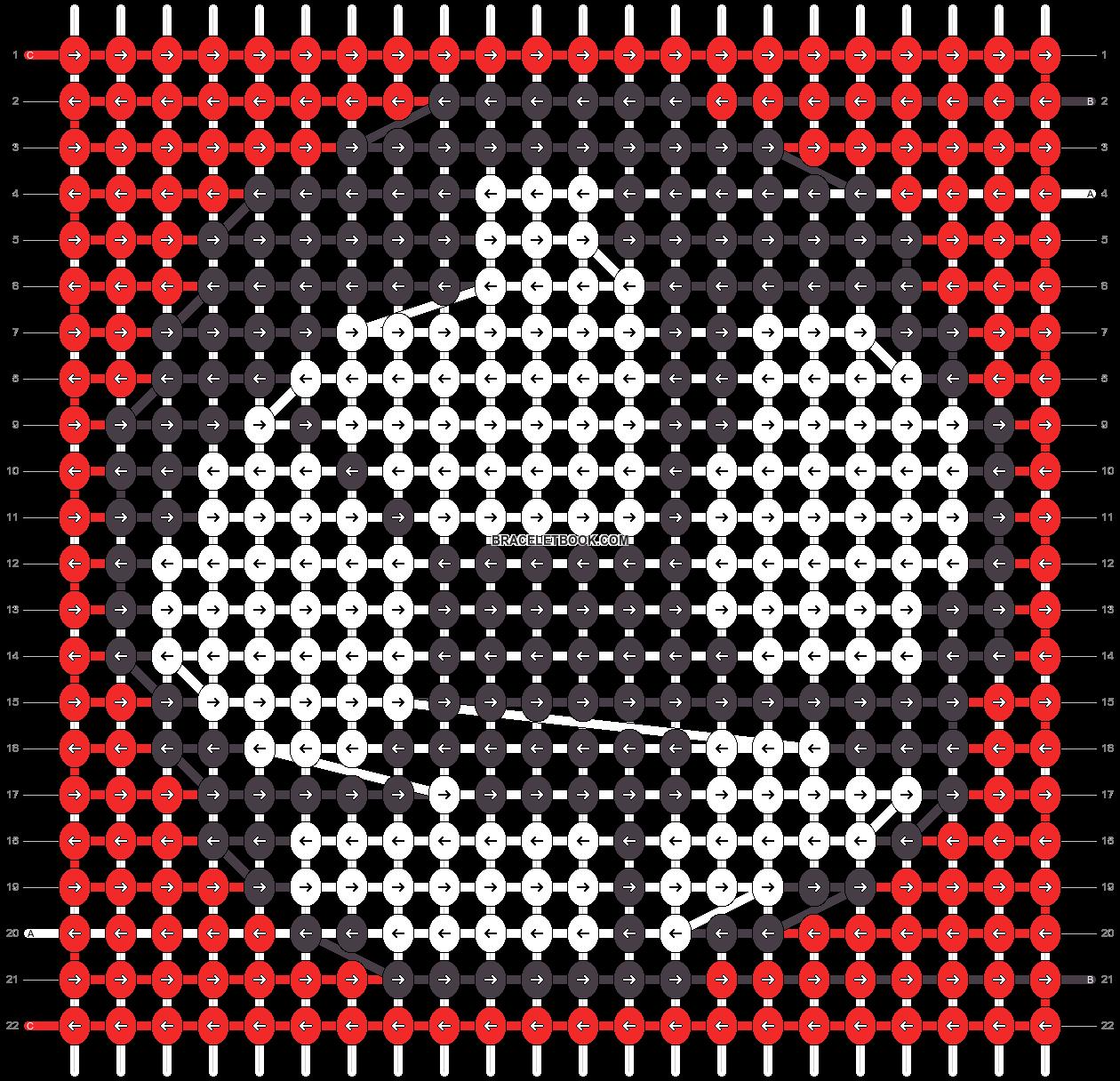 Alpha pattern #45168 pattern