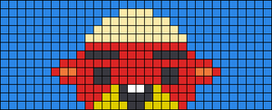 Alpha pattern #45172