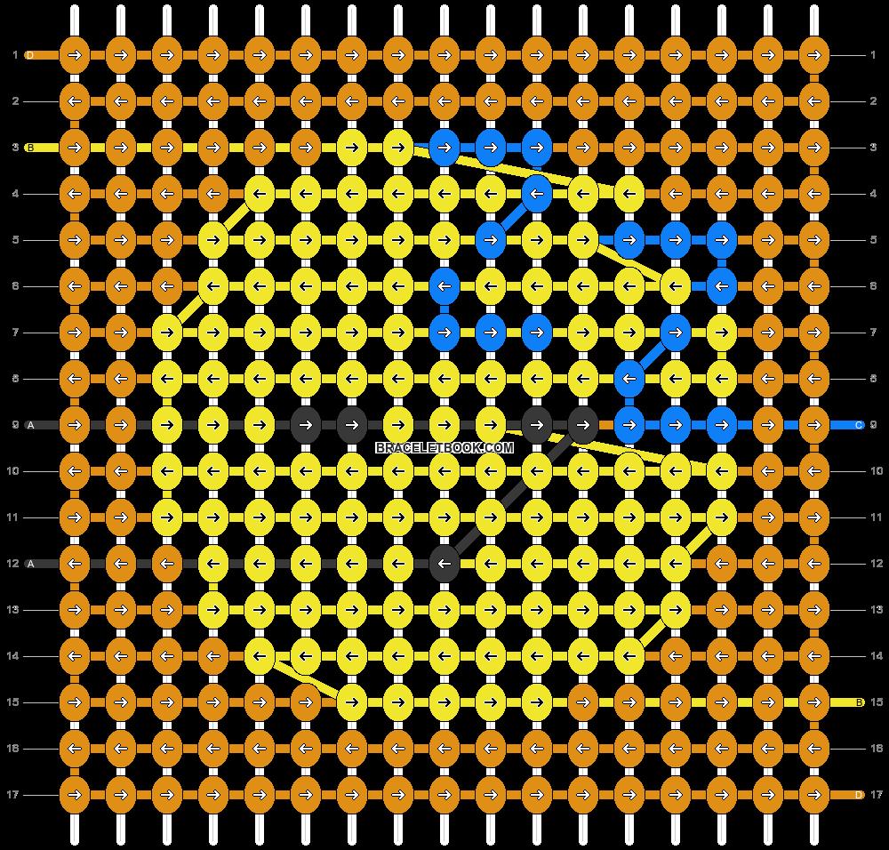 Alpha pattern #45180 pattern