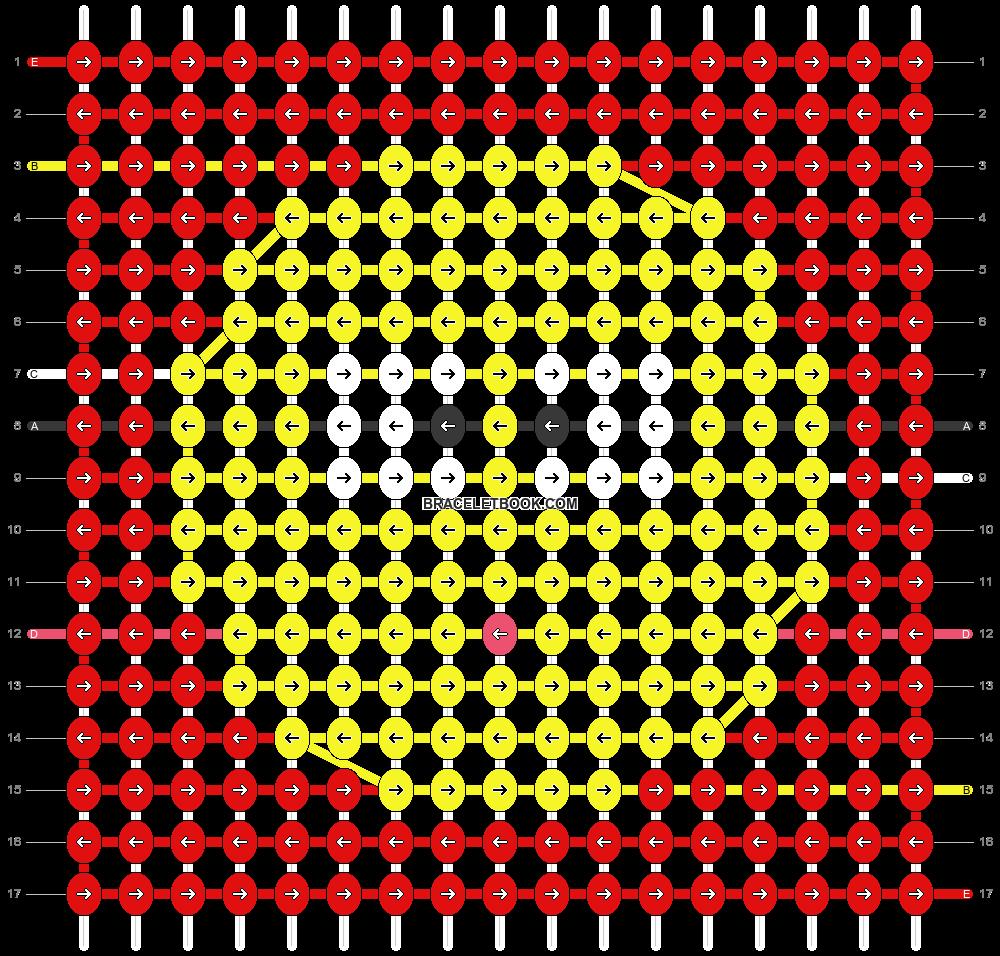 Alpha pattern #45182 pattern
