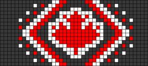 Alpha pattern #45201