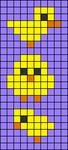 Alpha pattern #45203