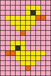 Alpha pattern #45204