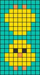 Alpha pattern #45205