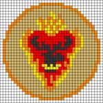 Alpha pattern #45244
