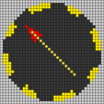 Alpha pattern #45245