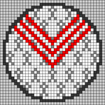 Alpha pattern #45249