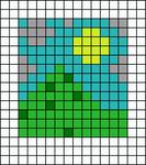 Alpha pattern #45258