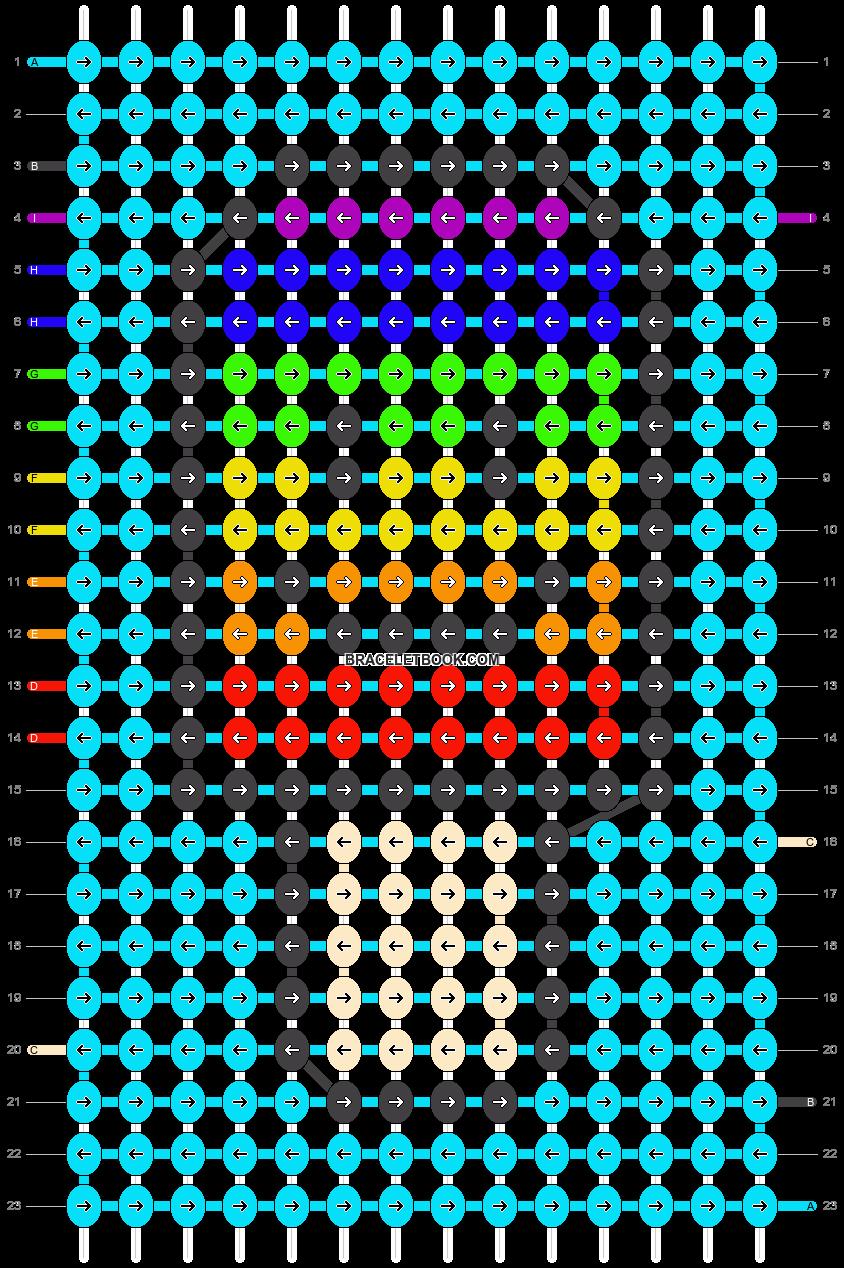 Alpha pattern #45303 pattern