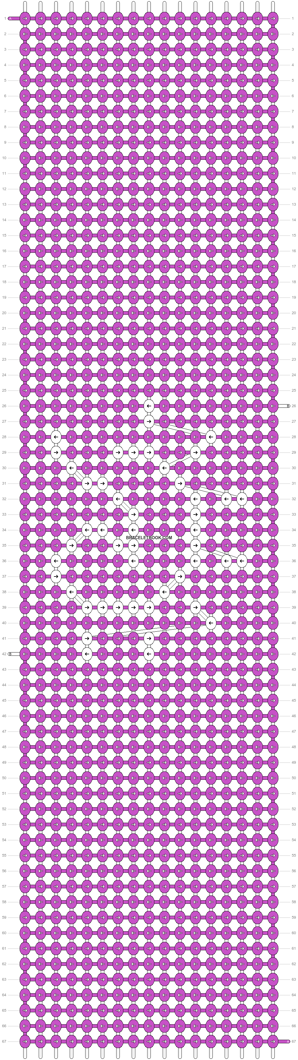 Alpha pattern #45306 pattern