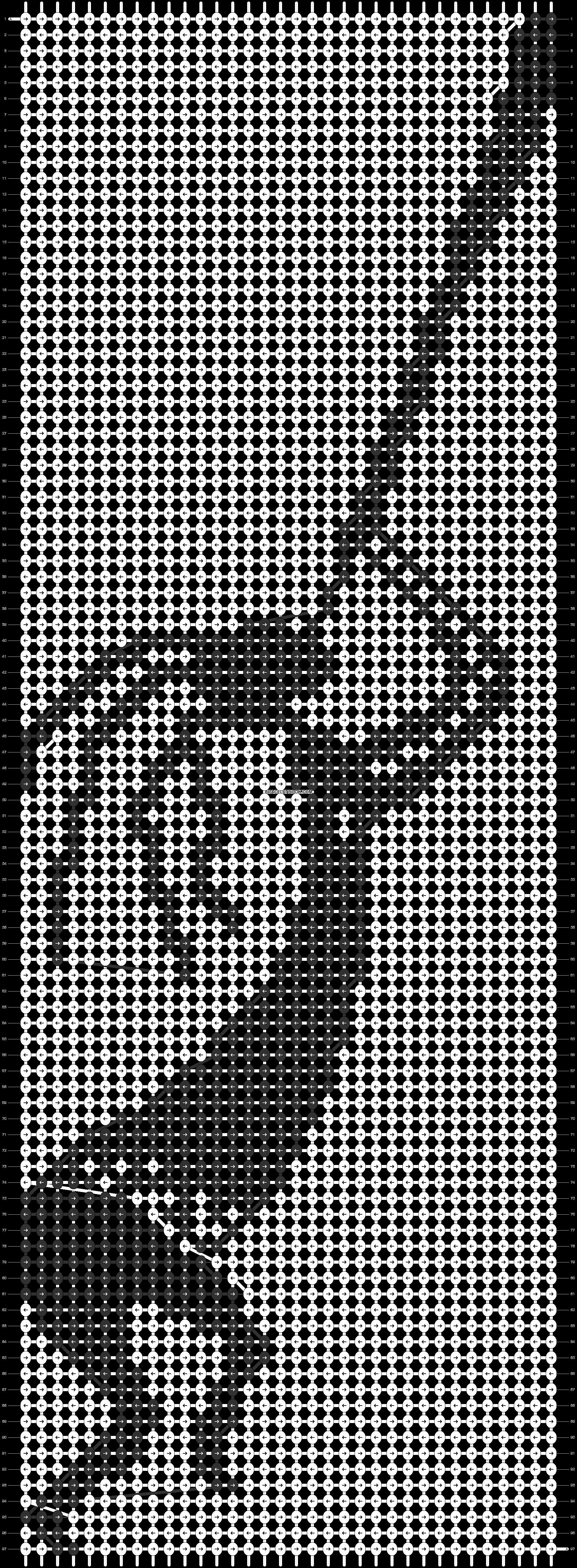 Alpha pattern #45309 pattern