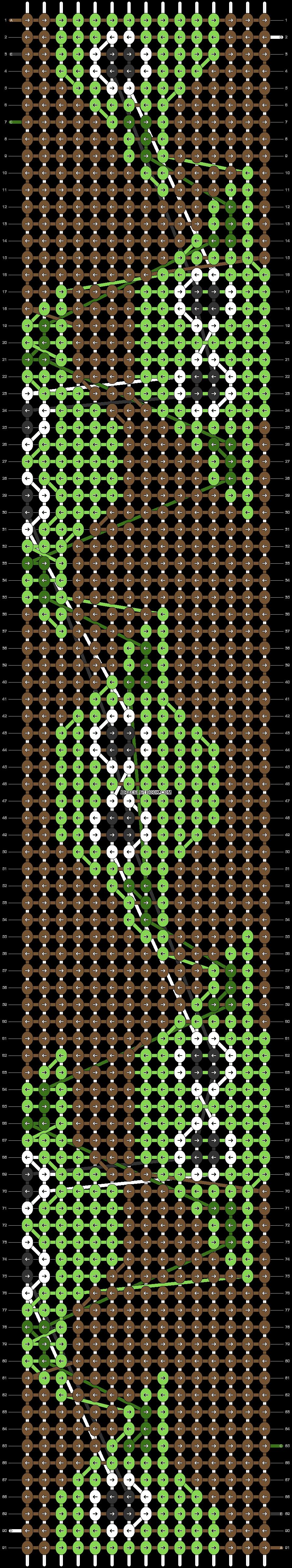 Alpha pattern #45319 pattern