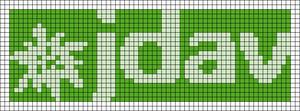 Alpha pattern #45326