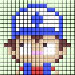 Alpha pattern #45359