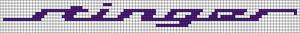Alpha pattern #45363