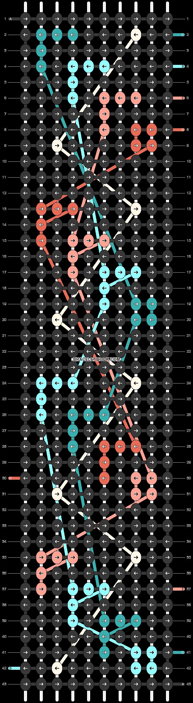 Alpha pattern #45371 pattern
