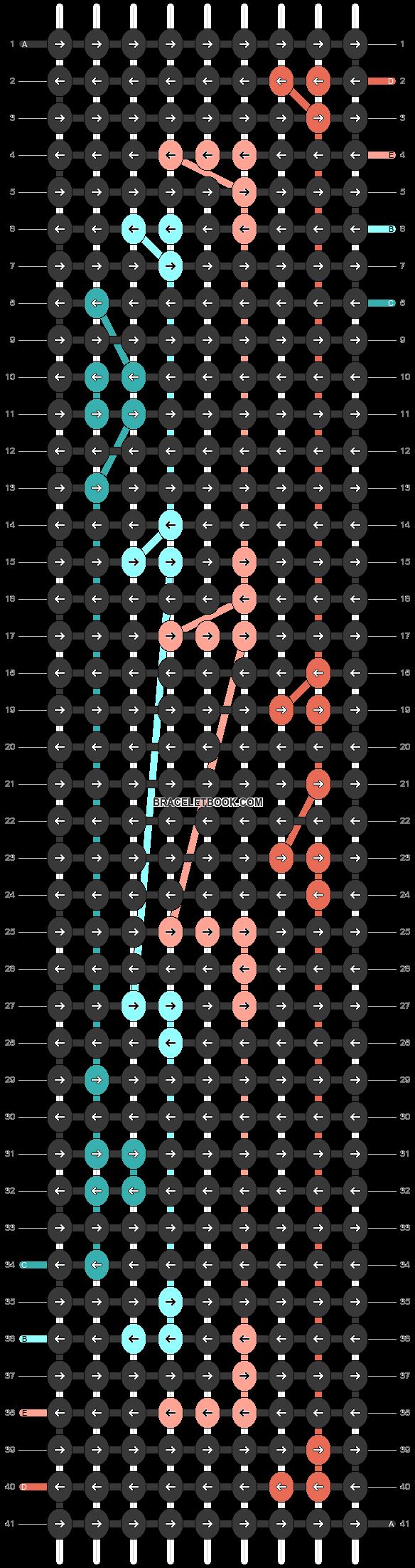 Alpha pattern #45372 pattern