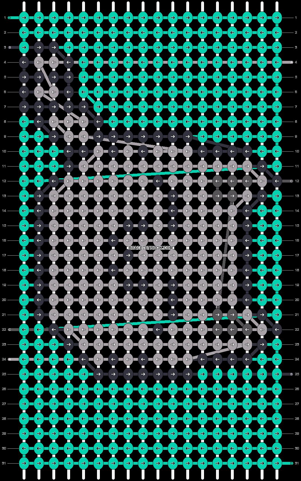 Alpha pattern #45374 pattern