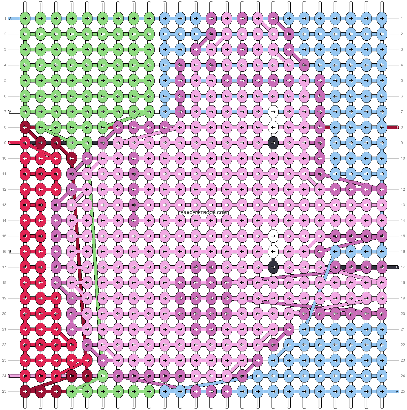Alpha pattern #45376 pattern