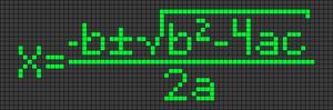 Alpha pattern #45389