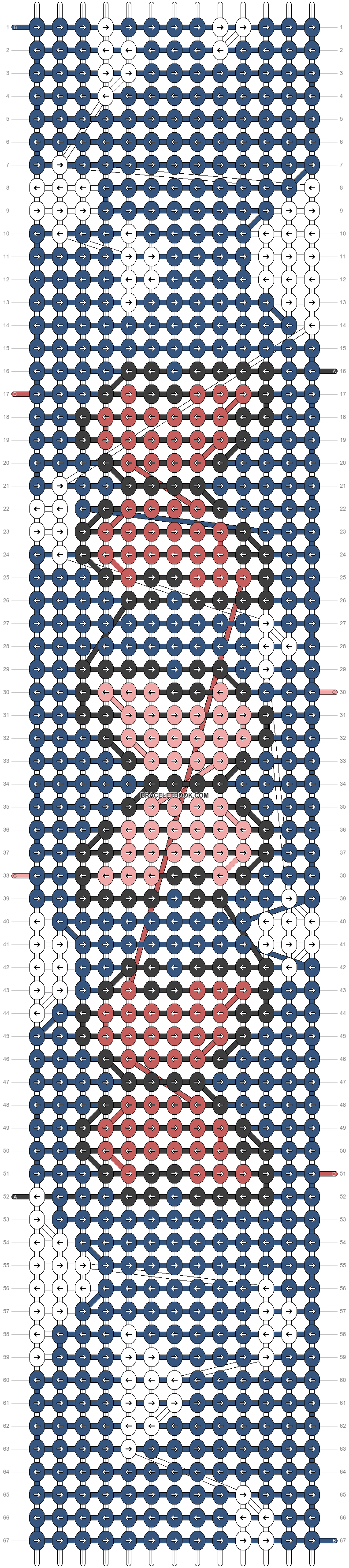 Alpha pattern #45396 pattern