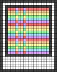 Alpha pattern #45400