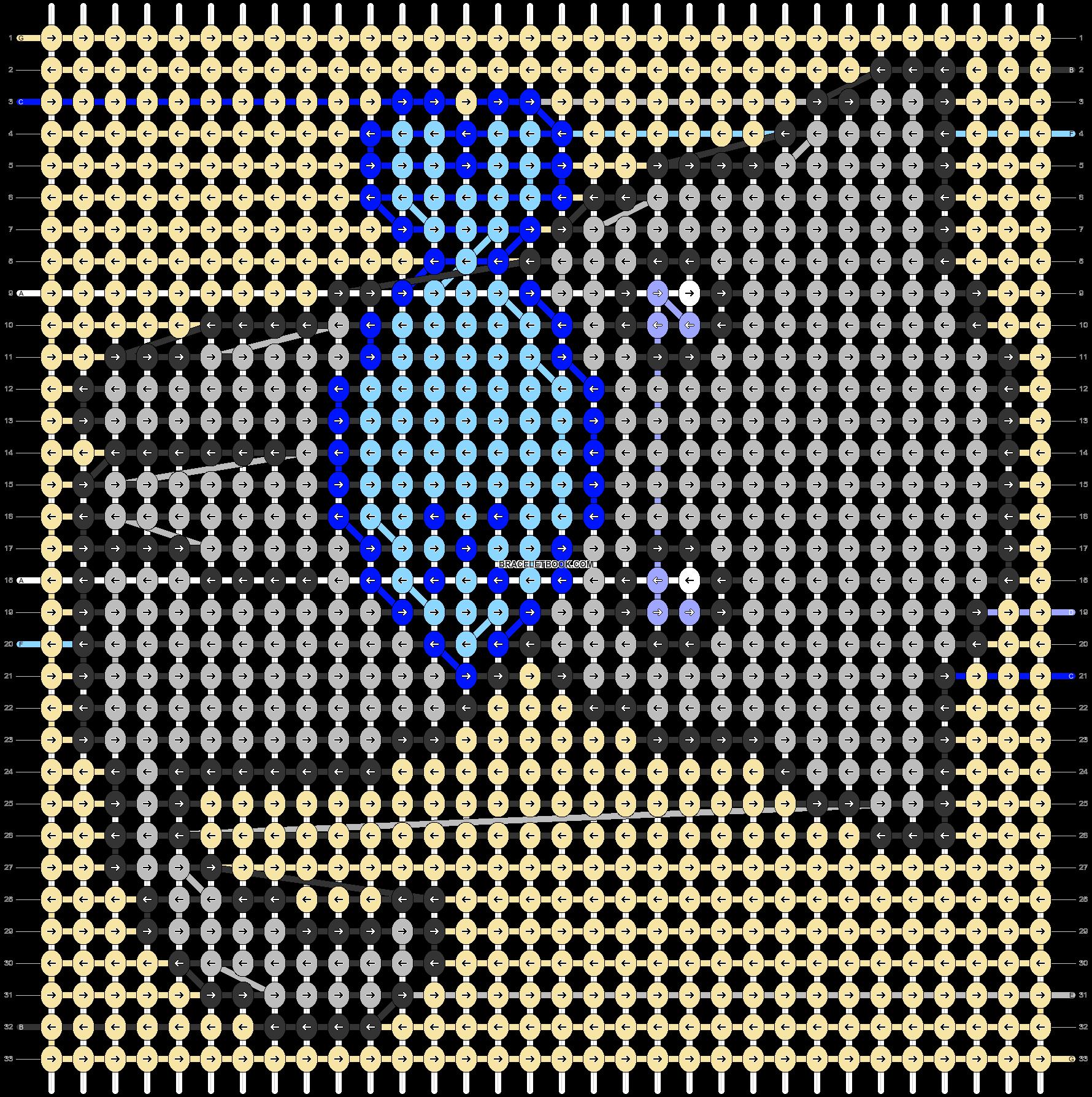 Alpha pattern #45411 pattern
