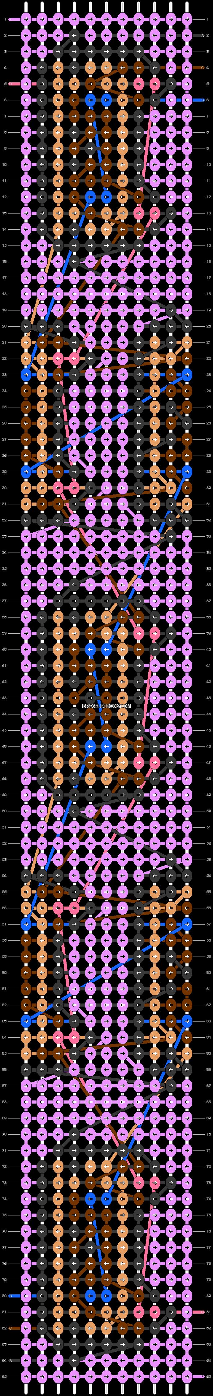 Alpha pattern #45424 pattern