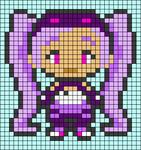 Alpha pattern #45445