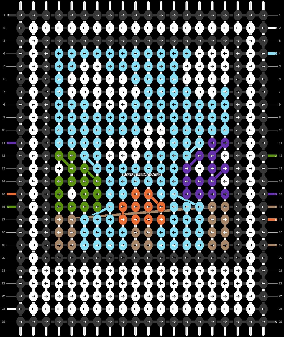 Alpha pattern #45466 pattern