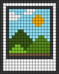 Alpha pattern #45467